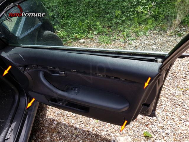 Dépose intérieur de porte Audi A4 B6