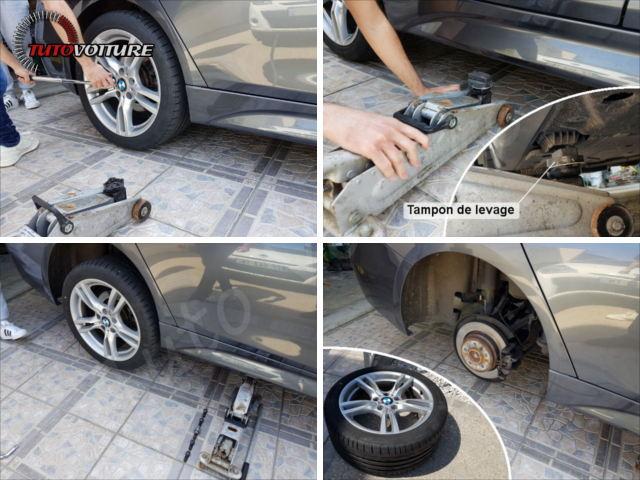 Changer roue BMW série 3 F30