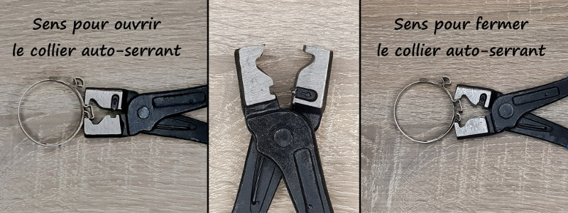 Comment ouvrir un collier auto-click