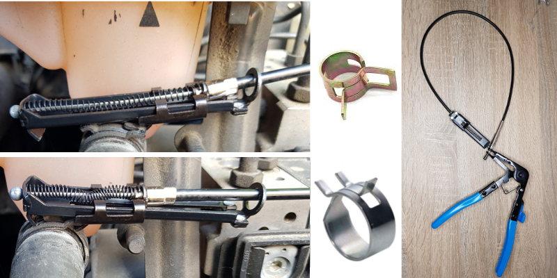 Comment retirer un collier de serrage