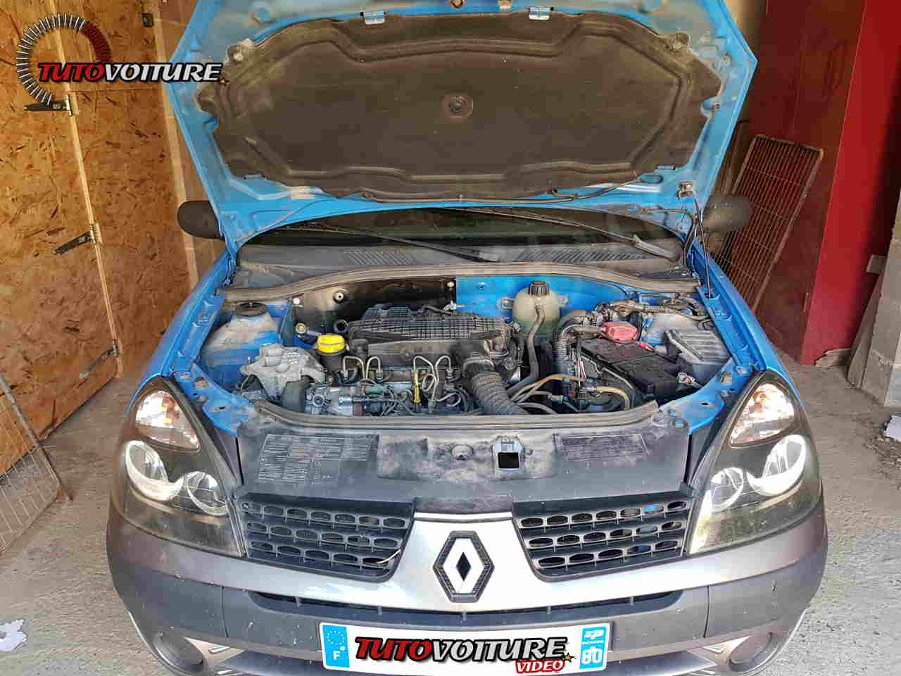 faire sa vidange - Renault Clio 2