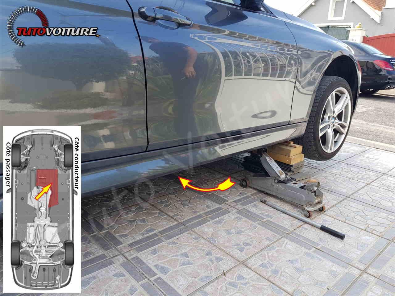 Emplacement du filtre à gasoil BMW serie 3
