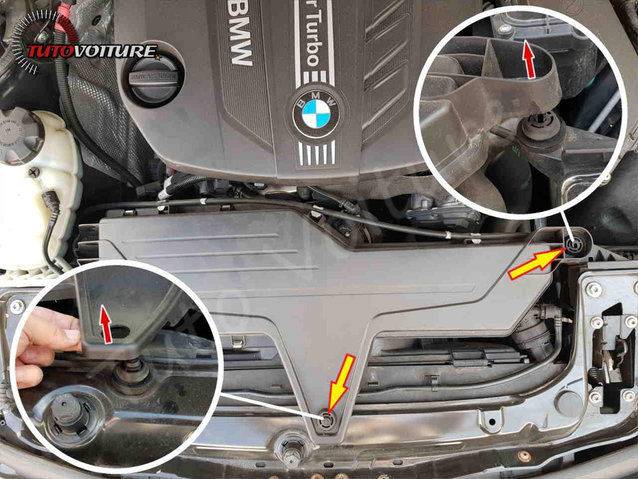 Tuto remplacer filtre à air bmw serie 2 F30