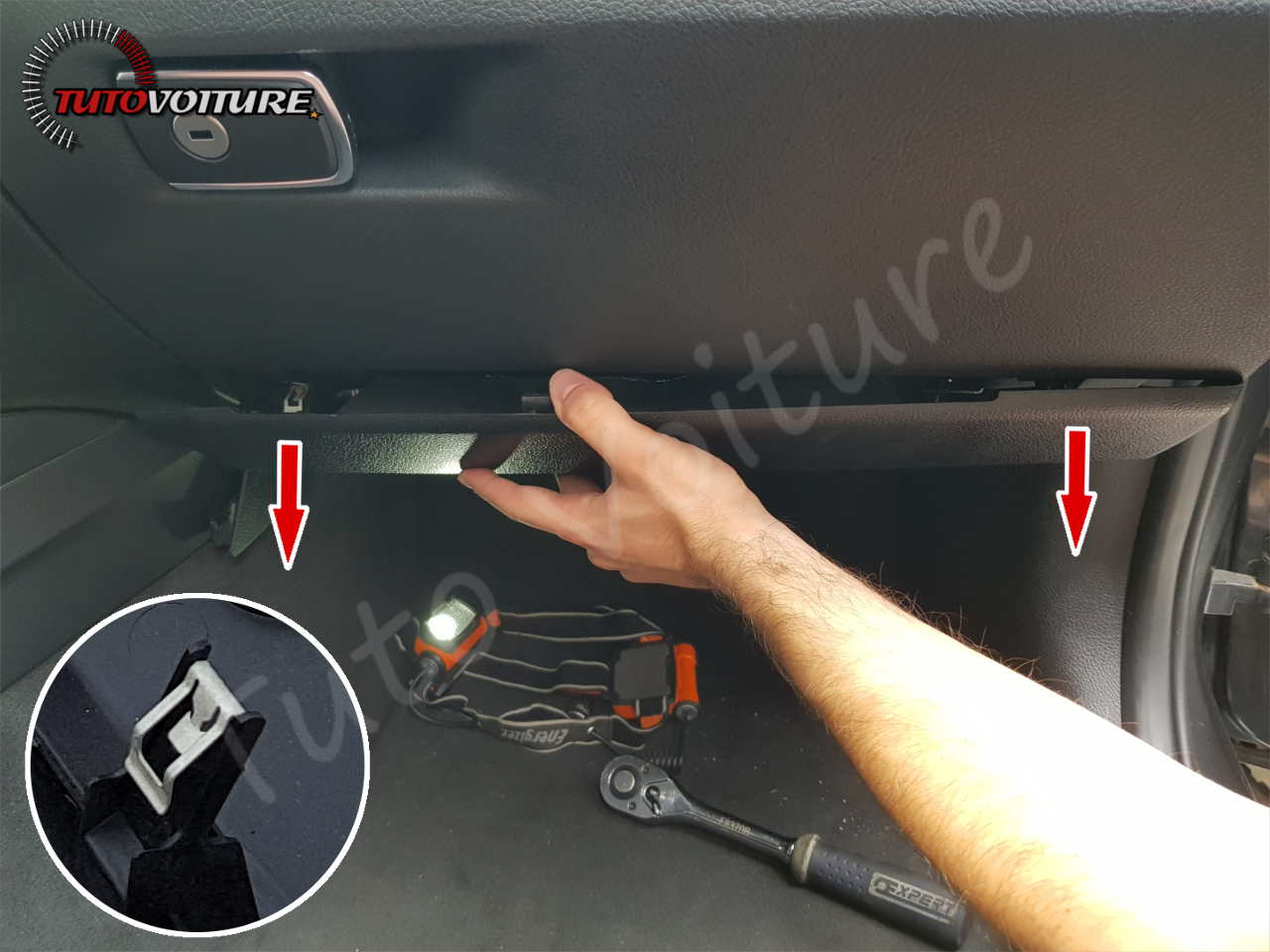 Tuto remplacer filtre habitacle bmw serie 3 - F30