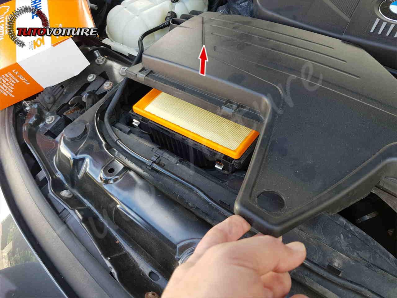 Remplacer filtre à air bmw f30