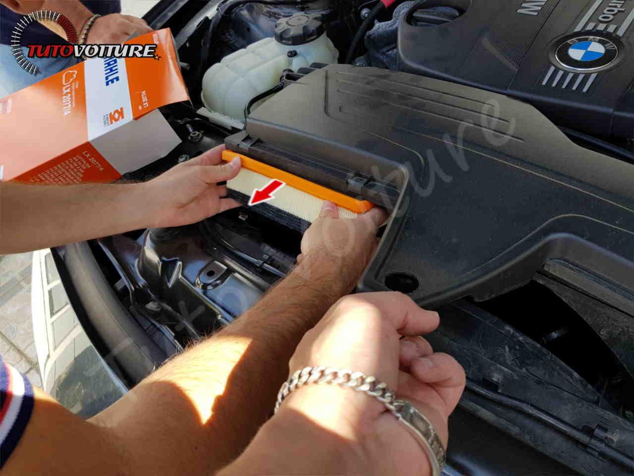 Comment changer le filtre à air BMW serie 3