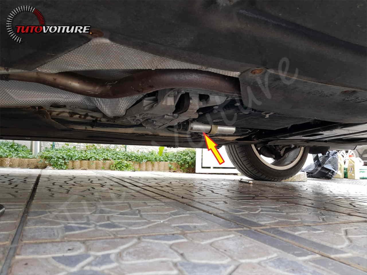 Emplacement du filtre à carburant BMW serie 3