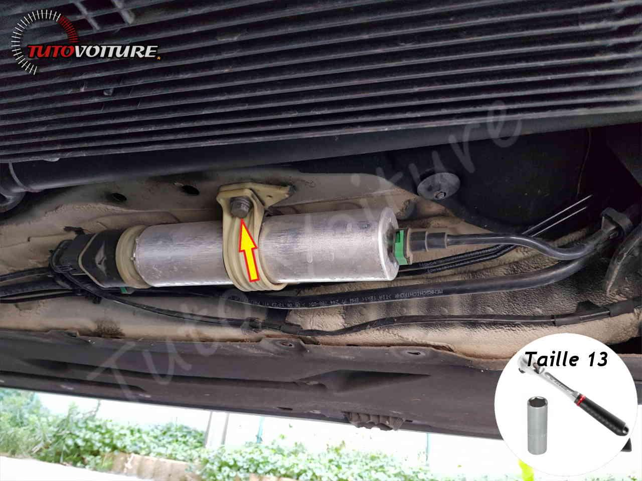 Remplacer filtre à gasoil bmw série 3 f30