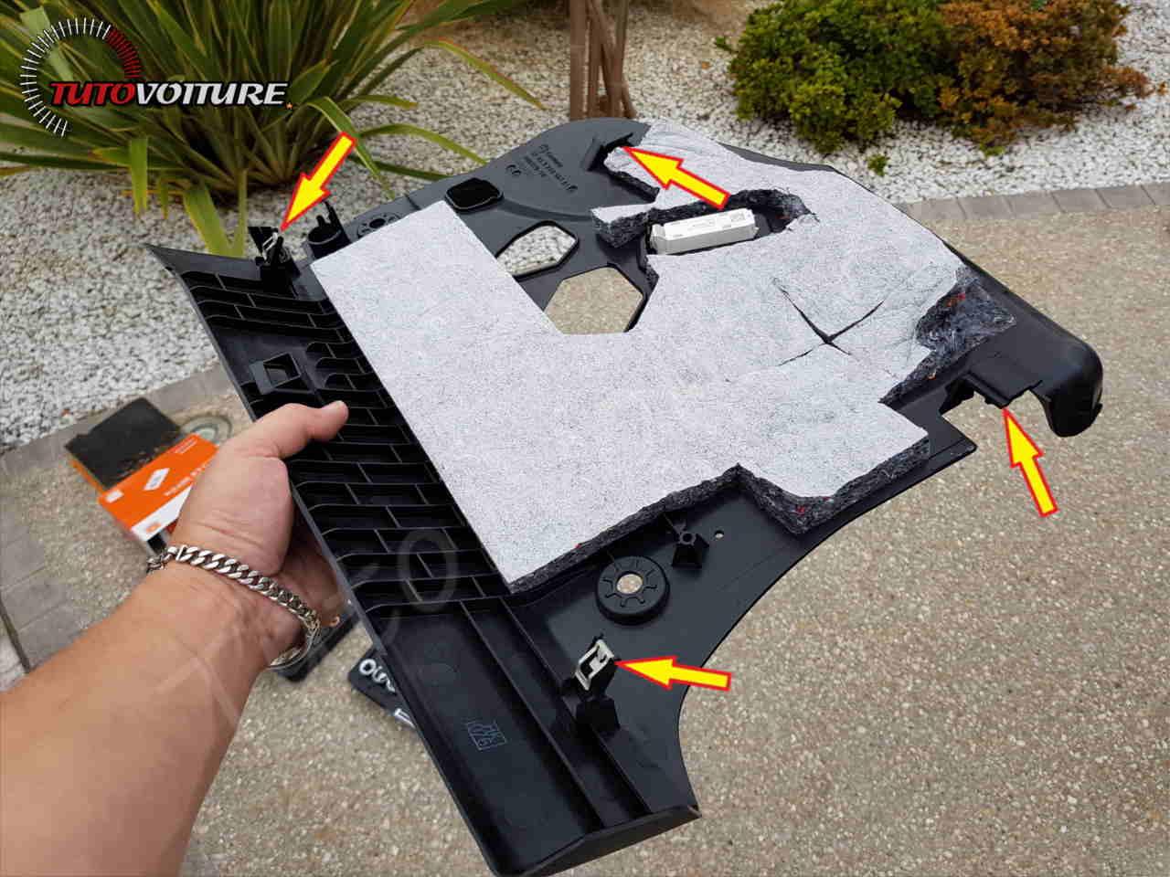 Protection boite à gants bmw serie 3 - F30