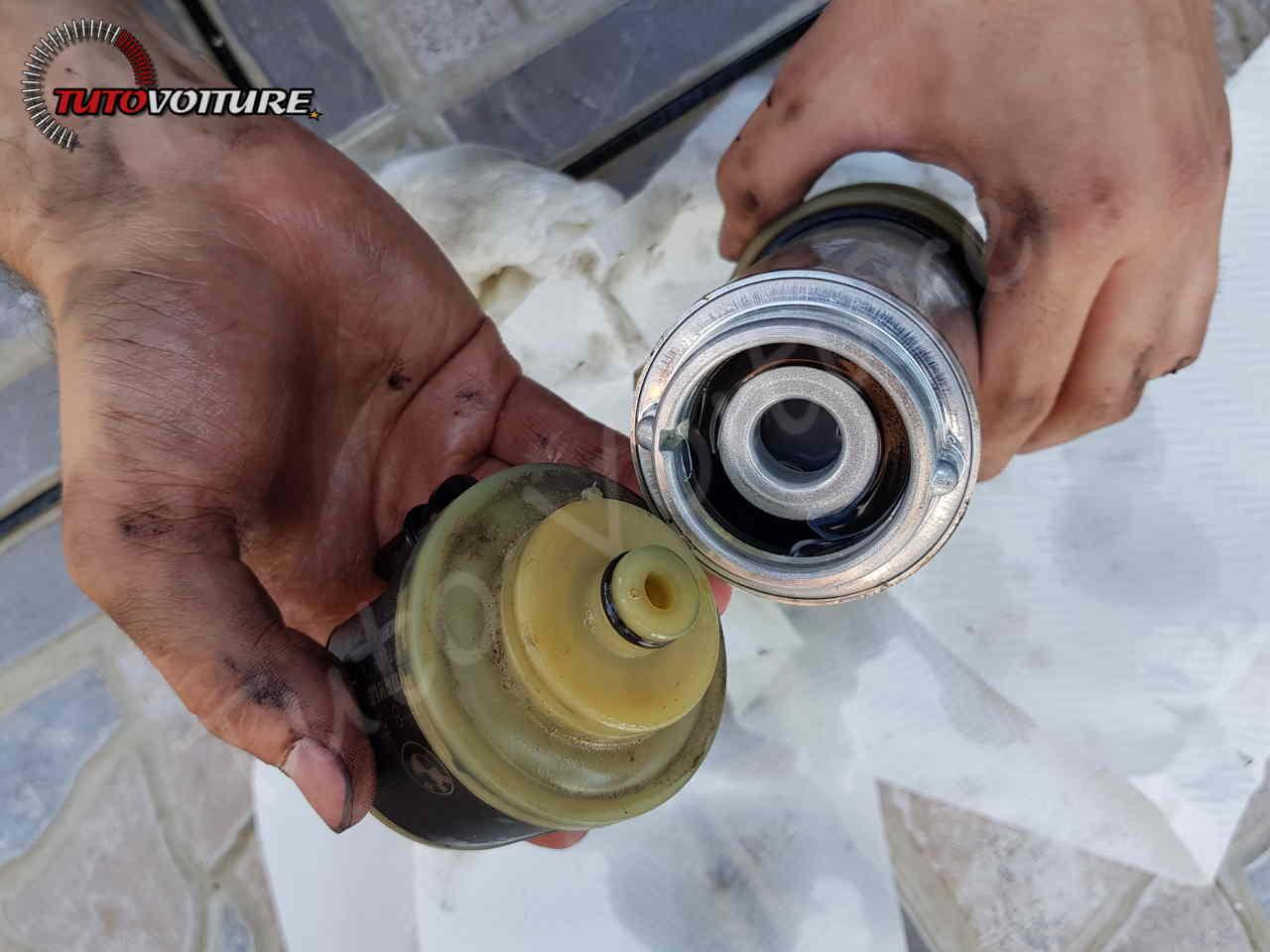 Changement filtre à gazole bmw série 3 f30