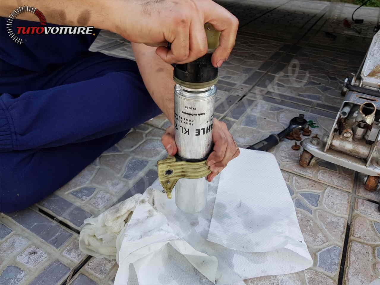 Trouver le filtre à gazole BMW serie 3