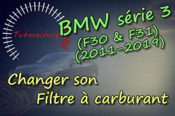 Comment changer son filtre à gasoil bmw série 3 (F30)