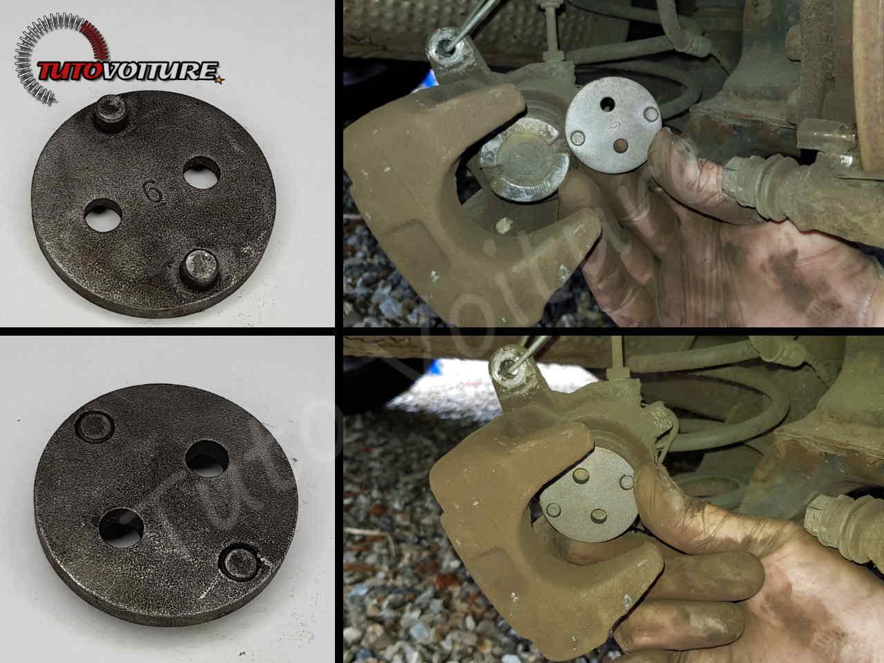Utilisation d'un repousse piston