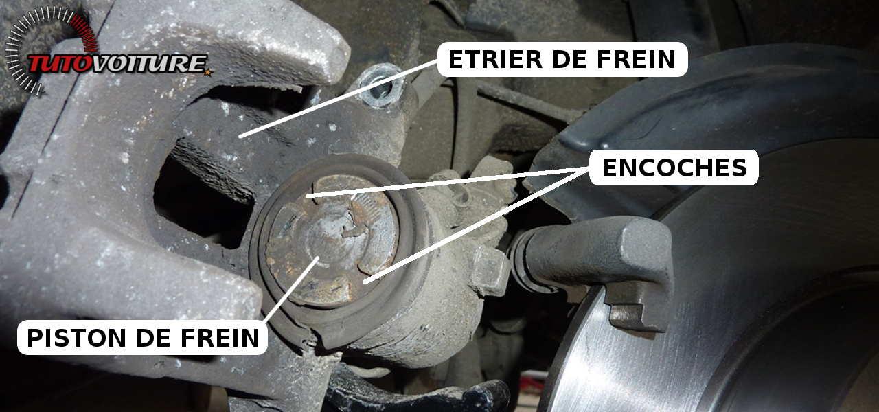 Comment repousser un piston de frein