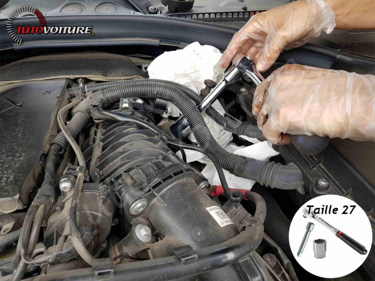 Changer le filtre à hule BMW série 3