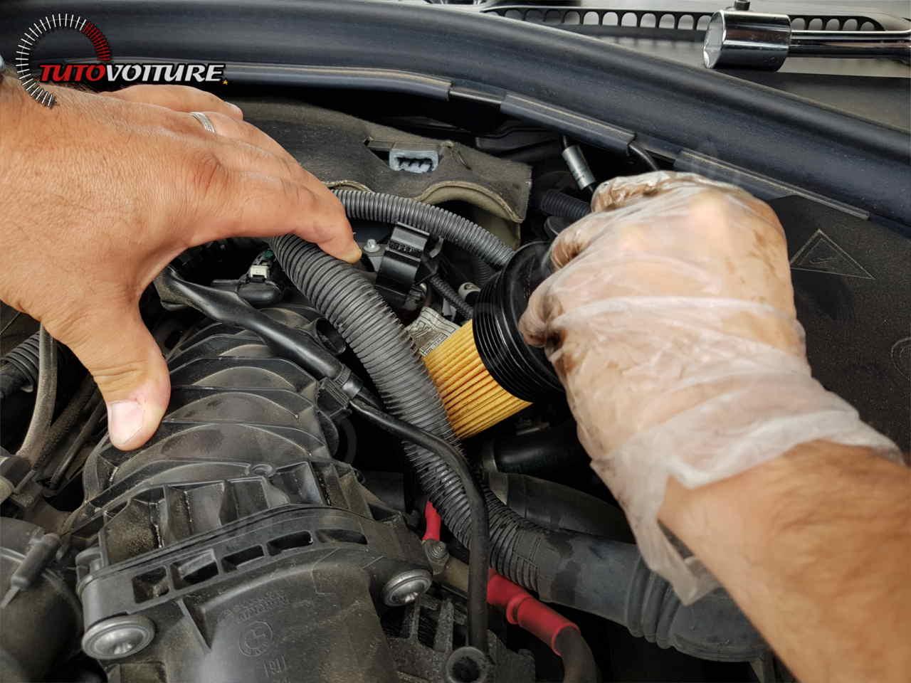 Changer le filtre à huile BMW F30