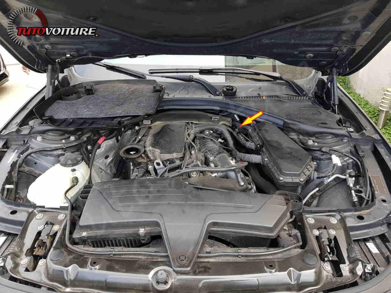 Ou se trouve la jauge d'huile bmw série 3 F30 - F31