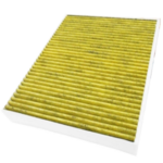 filtre habitacle polyphénol