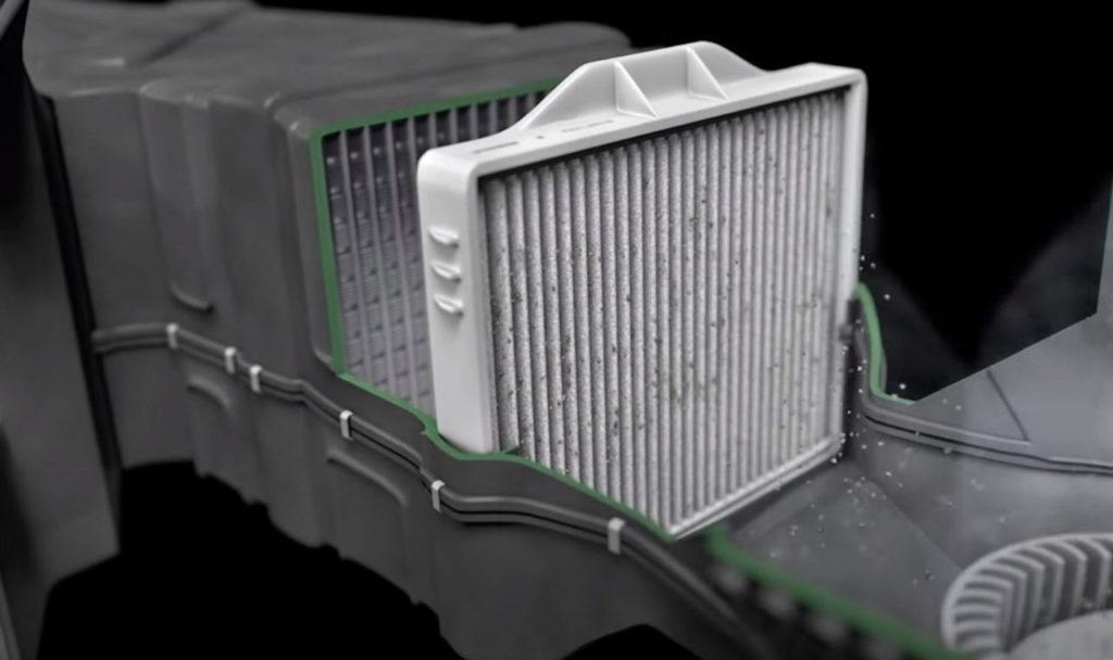 Filtre anti-poussière