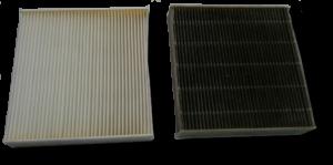 différence entre filtre propre et sale