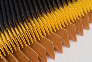 pourquoi un pliage en accordéon du filtre habitacle