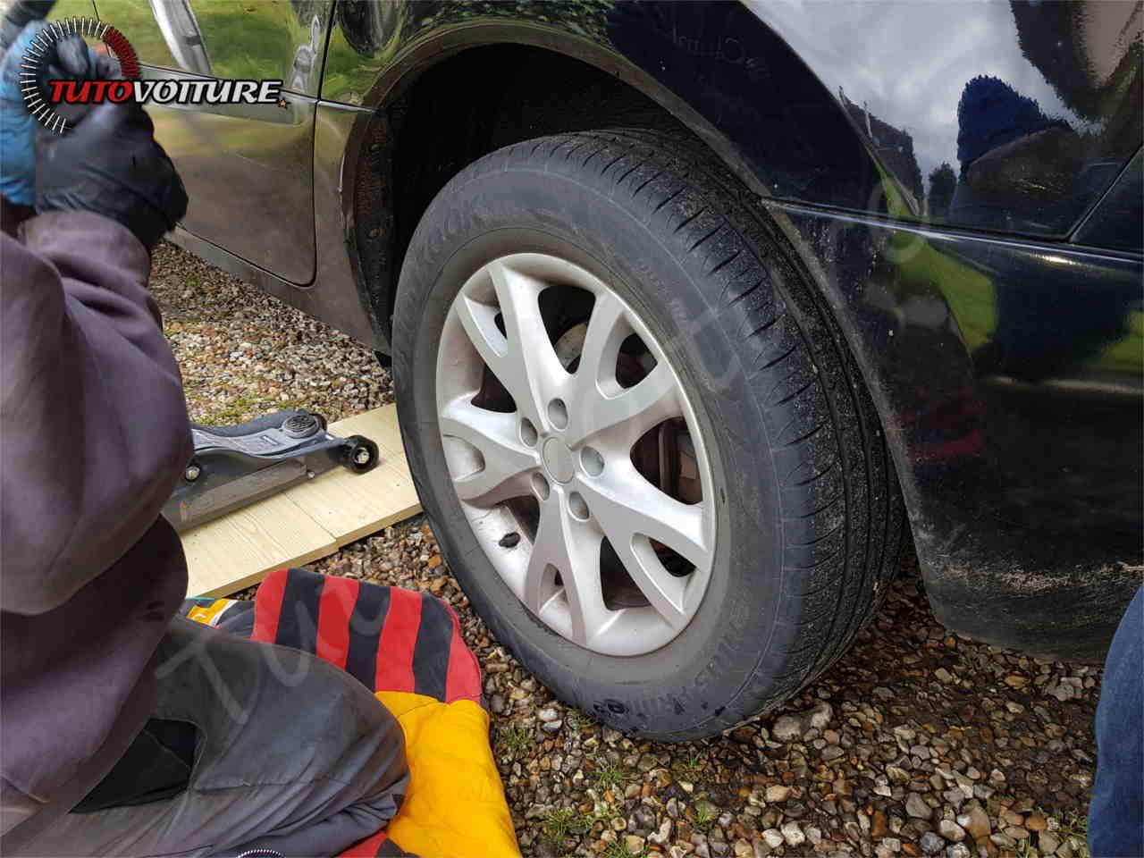 Démonter la roue Renault Koleos