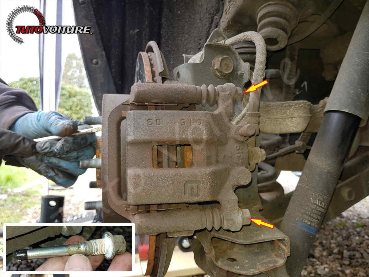 Remplacer les plaquettes de frein Renault Koleos