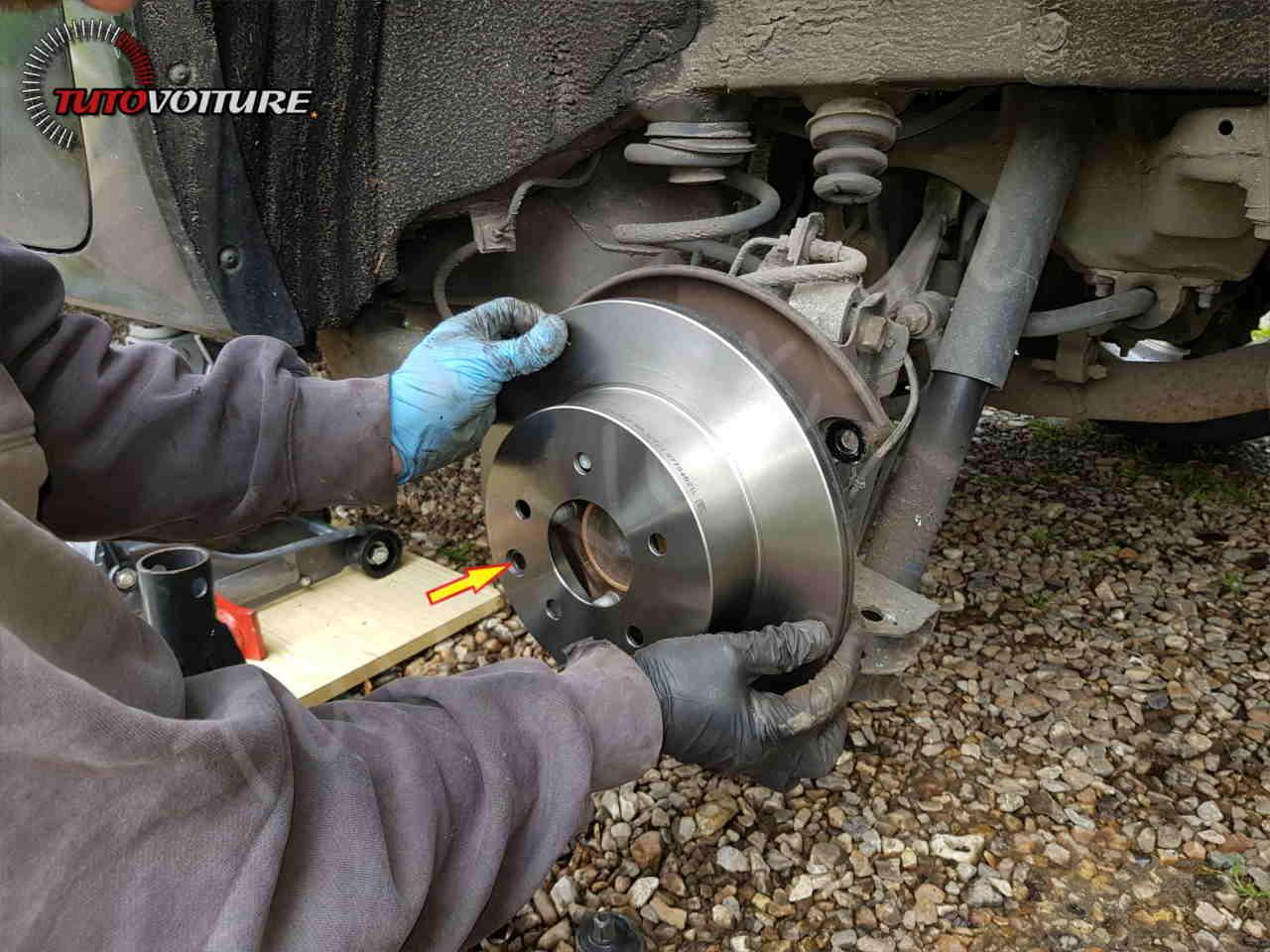Changer ses disques de frein Renault Koleos