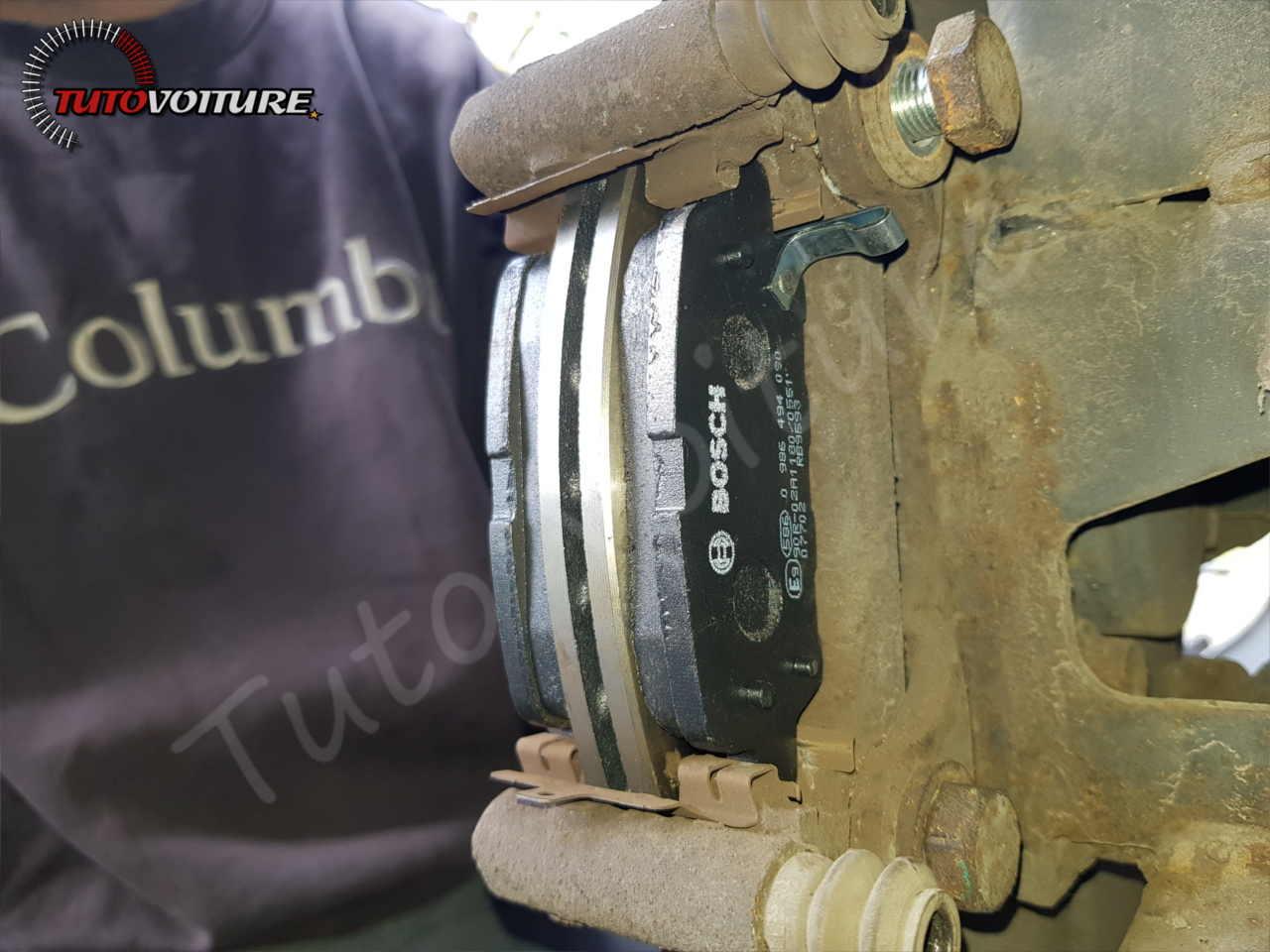 Remplacement des plaquettes de frein Renault Koleos