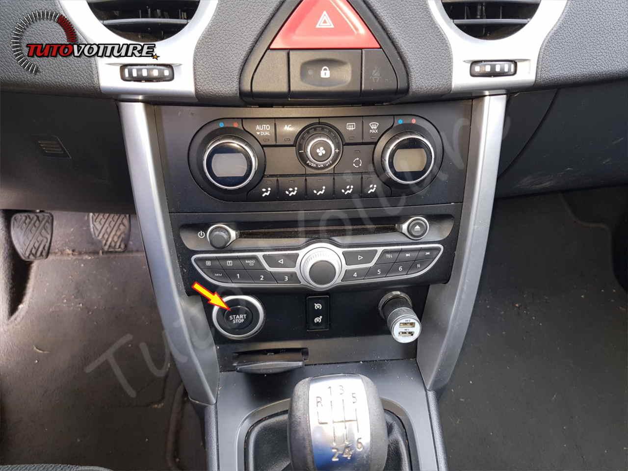 Déconnecter le frein à main électrique Renault koleos