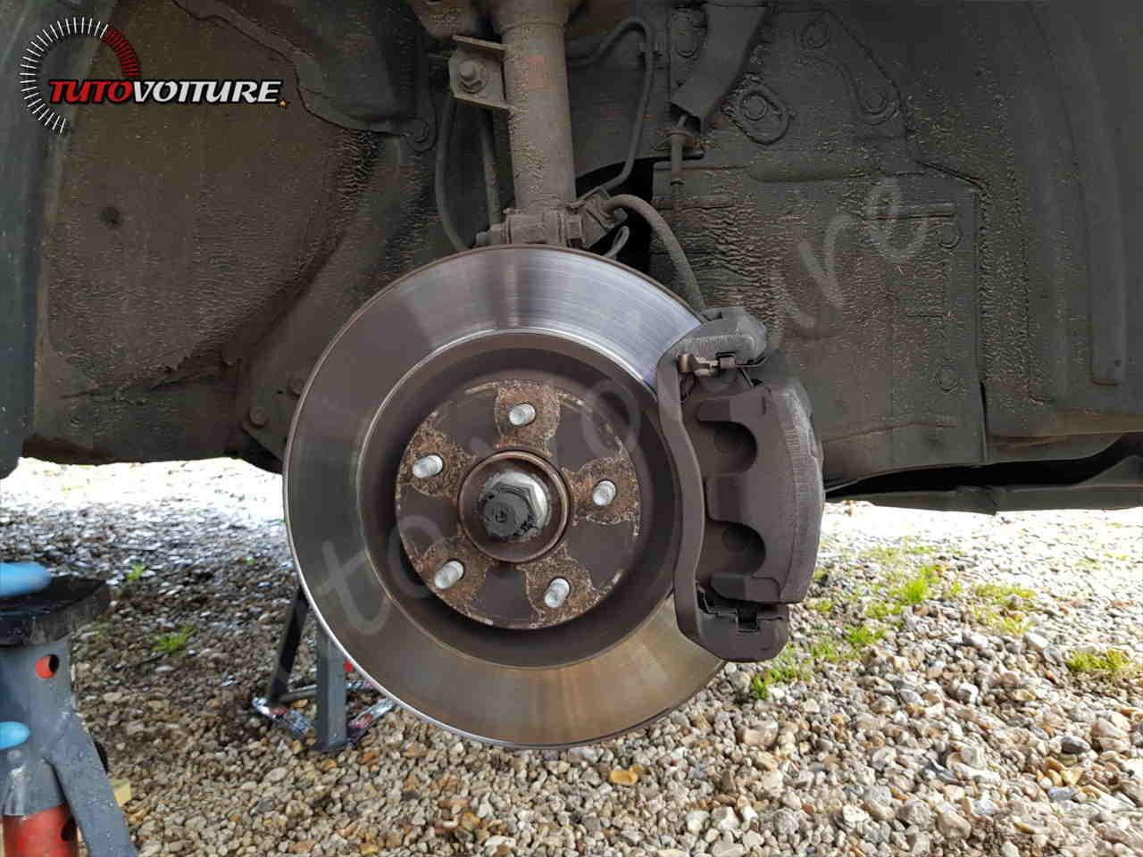 Changer vos disques et plaquettes de frein Renault Koleos