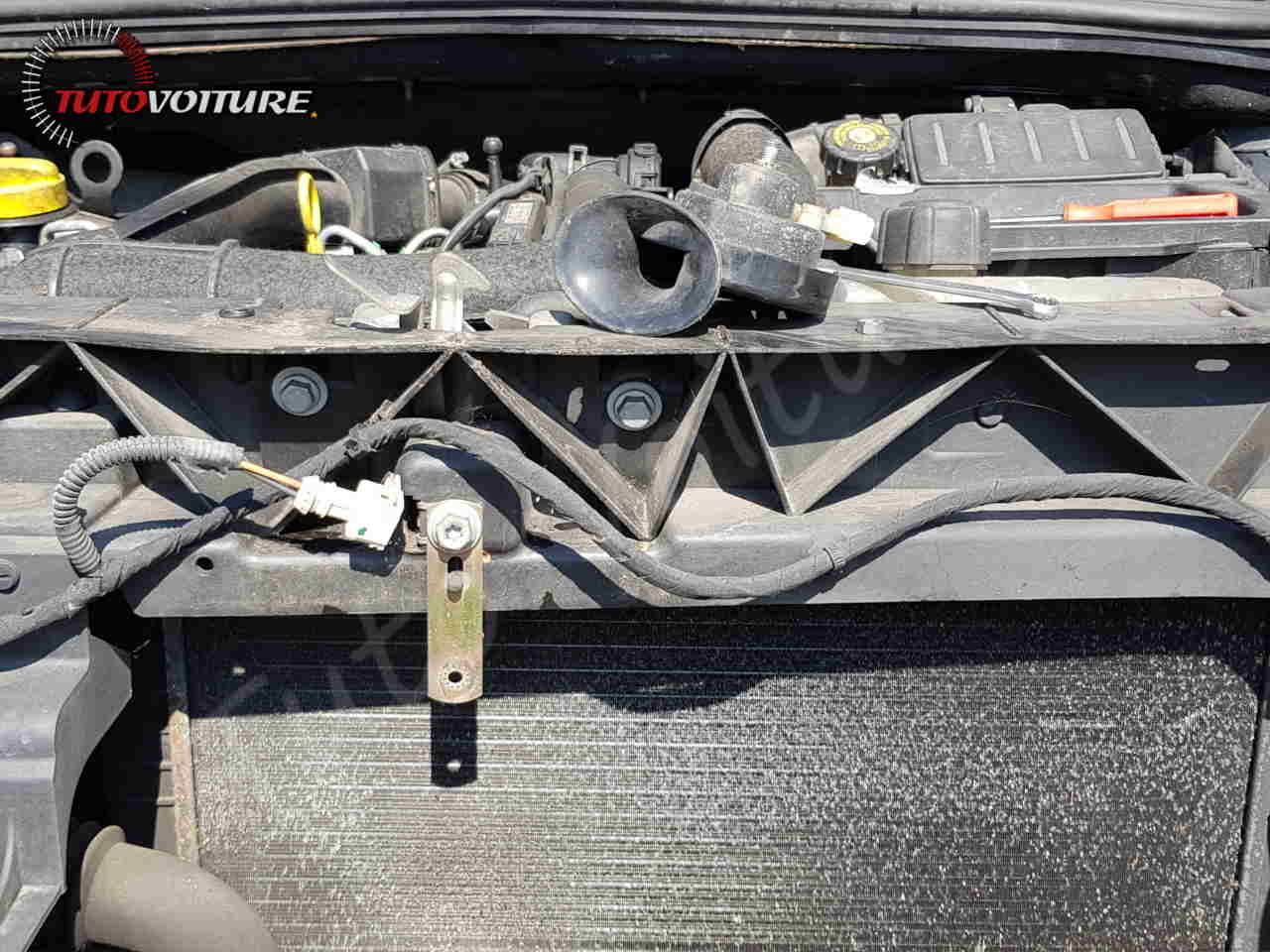 Remplacement du klaxon Renault Clio 3