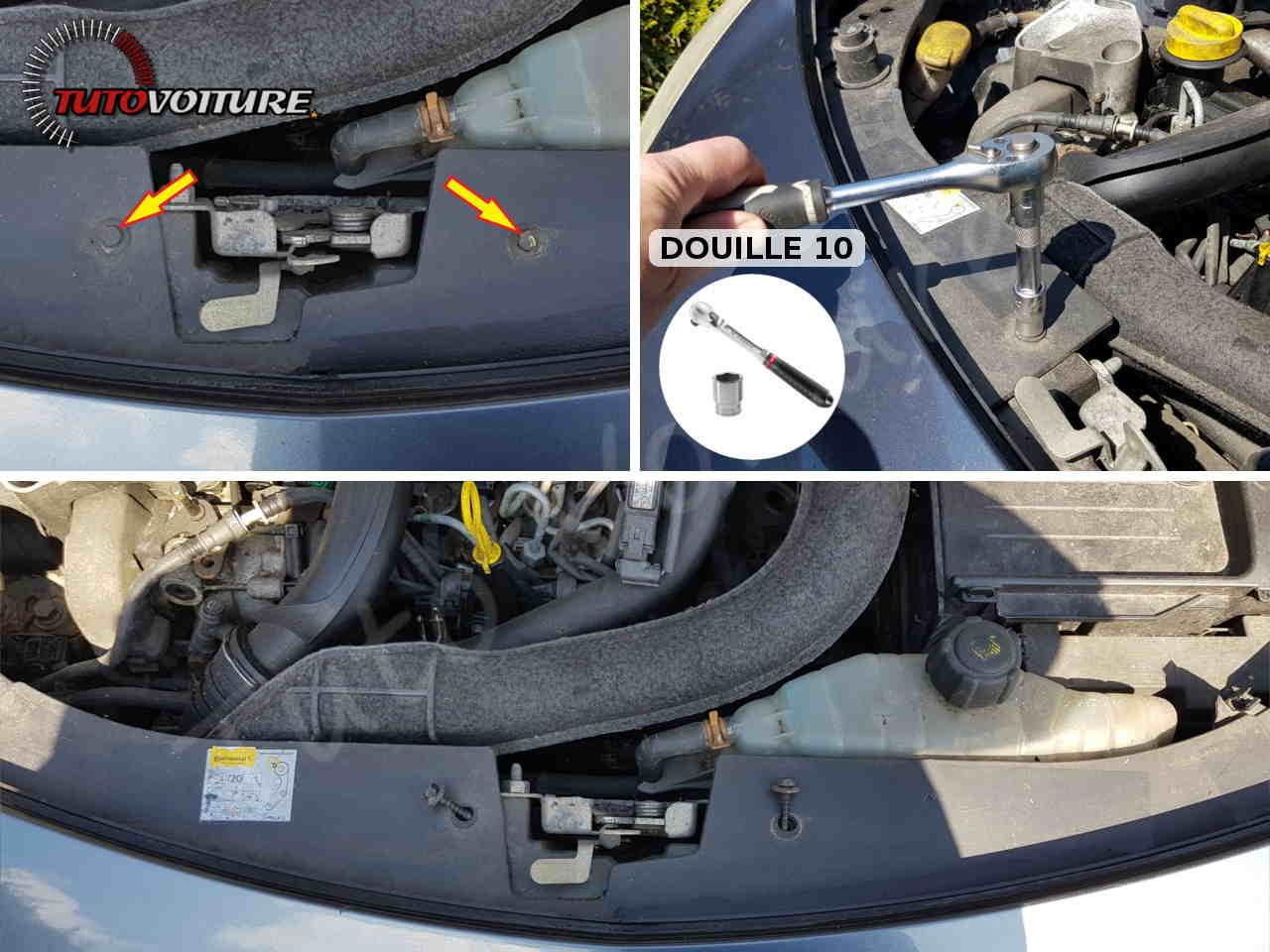 Enlever le pare-chocs avant Renault Clio 3