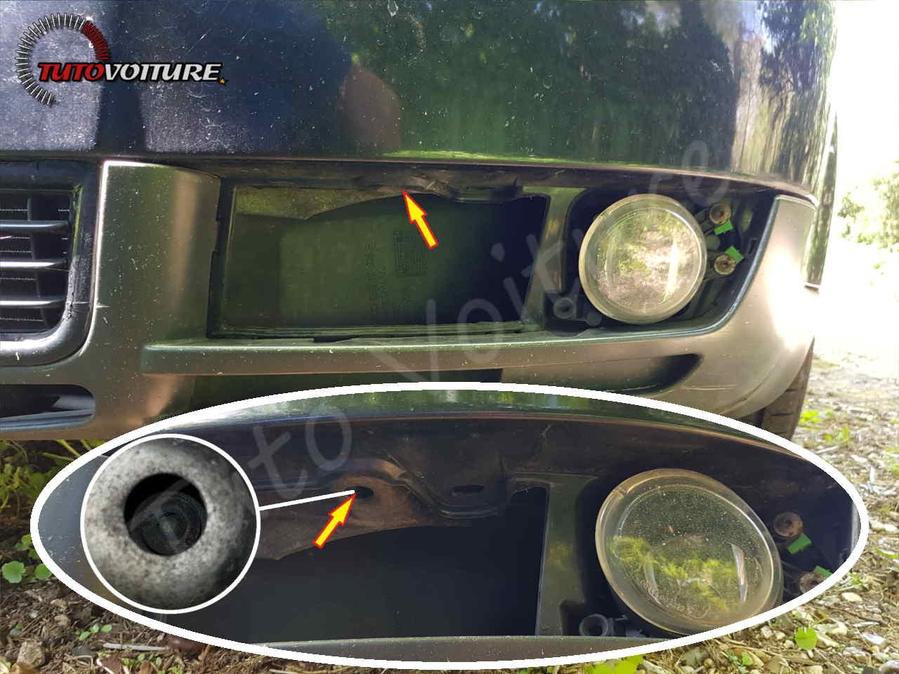 Démontage pare-choc Audi A4 B6