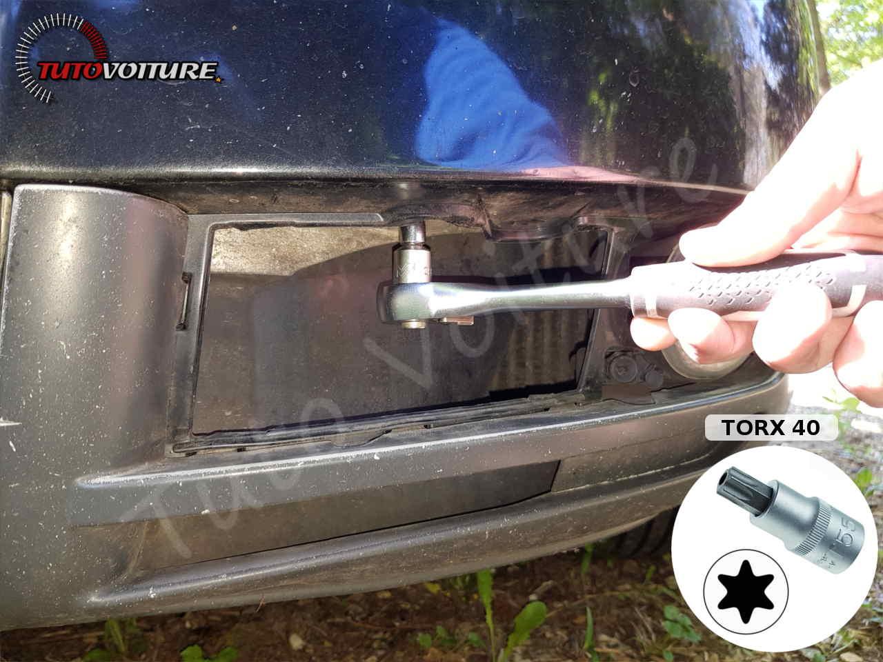 Vis de la barre anti-chocs Audi A4 B6
