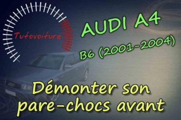 tuto démonter le pare-chocs avant Audi A4 b6