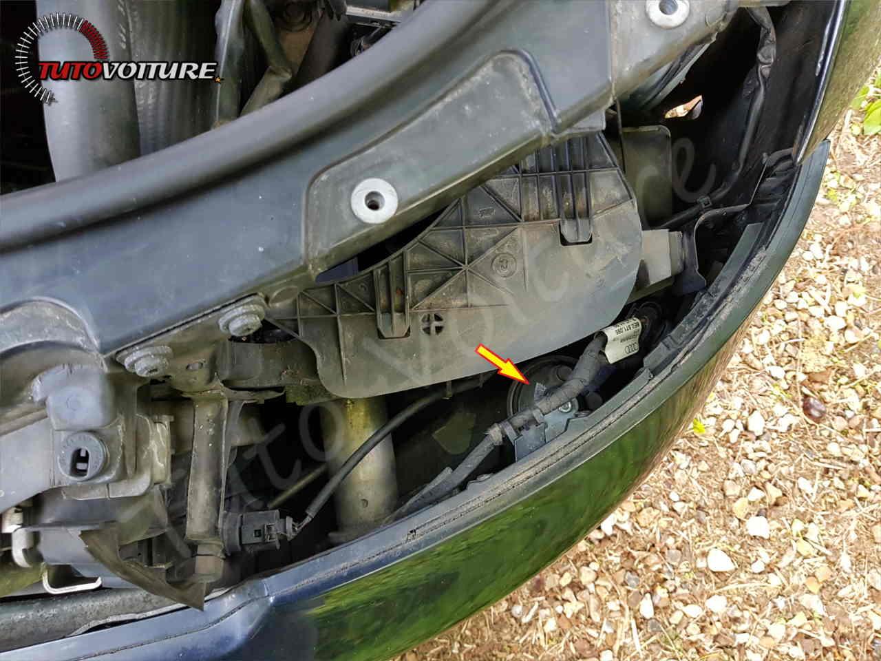 Démonter le klaxon Audi A4 B6