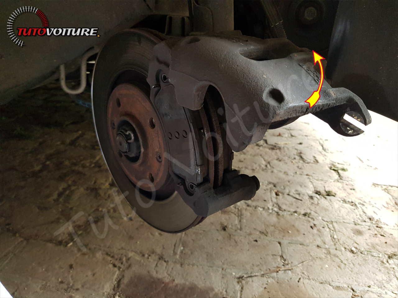 Comment ouvrier un étrier de freins