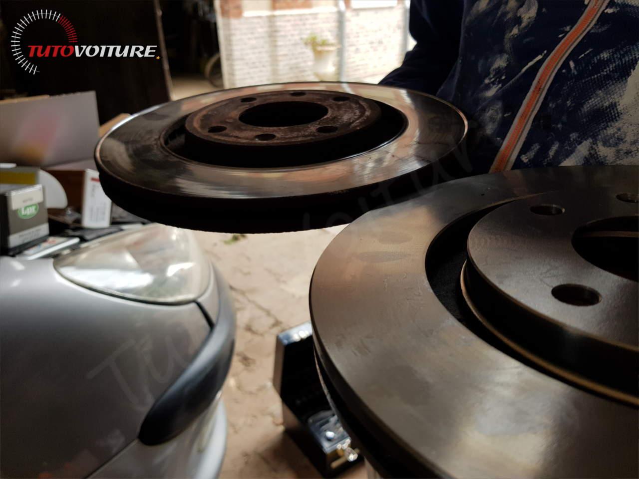 Vérifier l'état de vos disques de frein