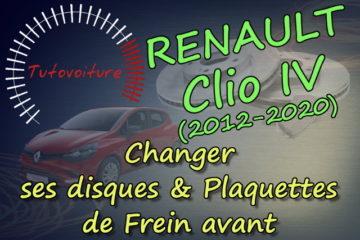 Comment remplacer ses disques et plaquettes de frein avant Clio 4