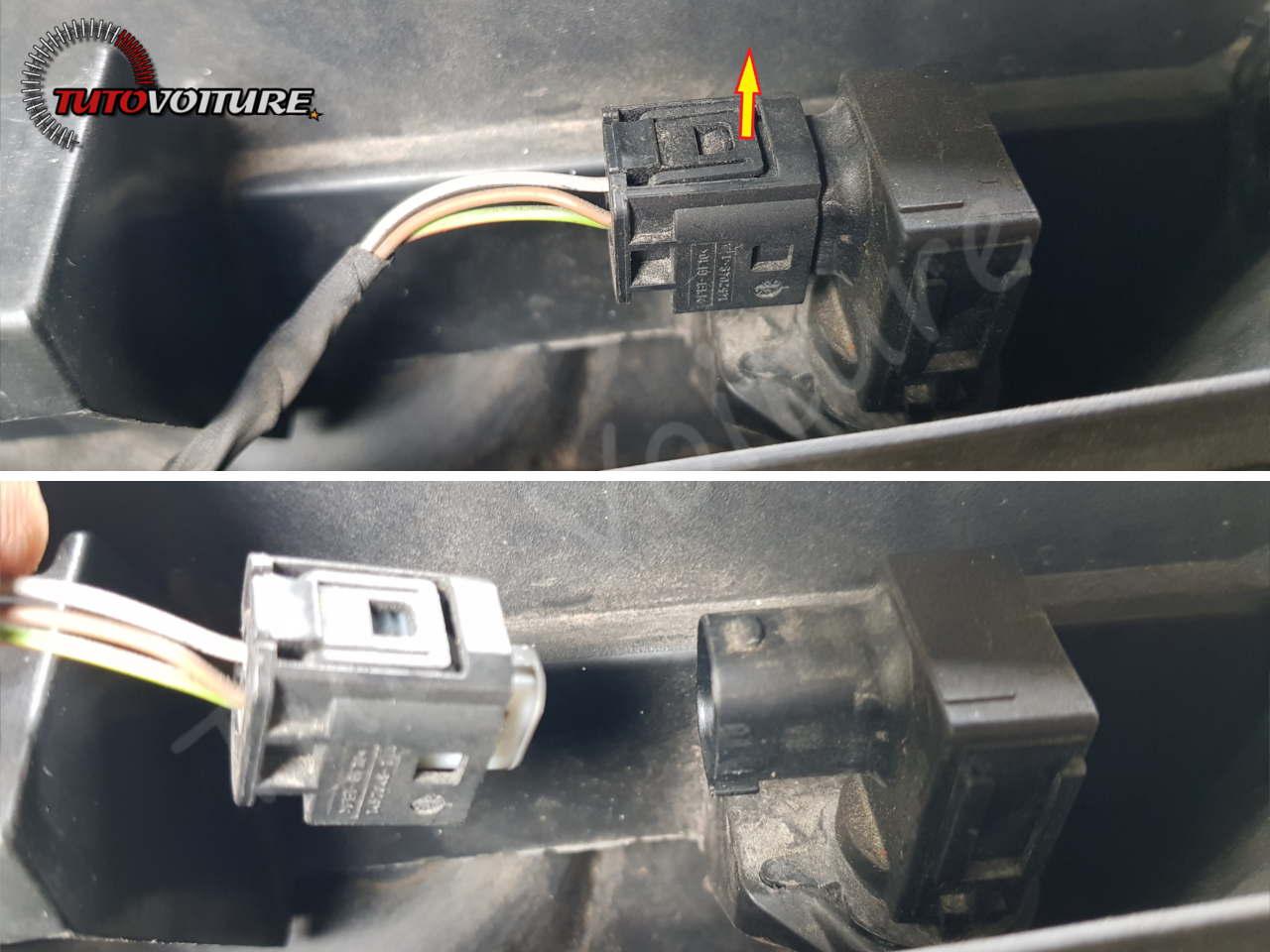 Retirer le capteur de qualité d'air bmw E60