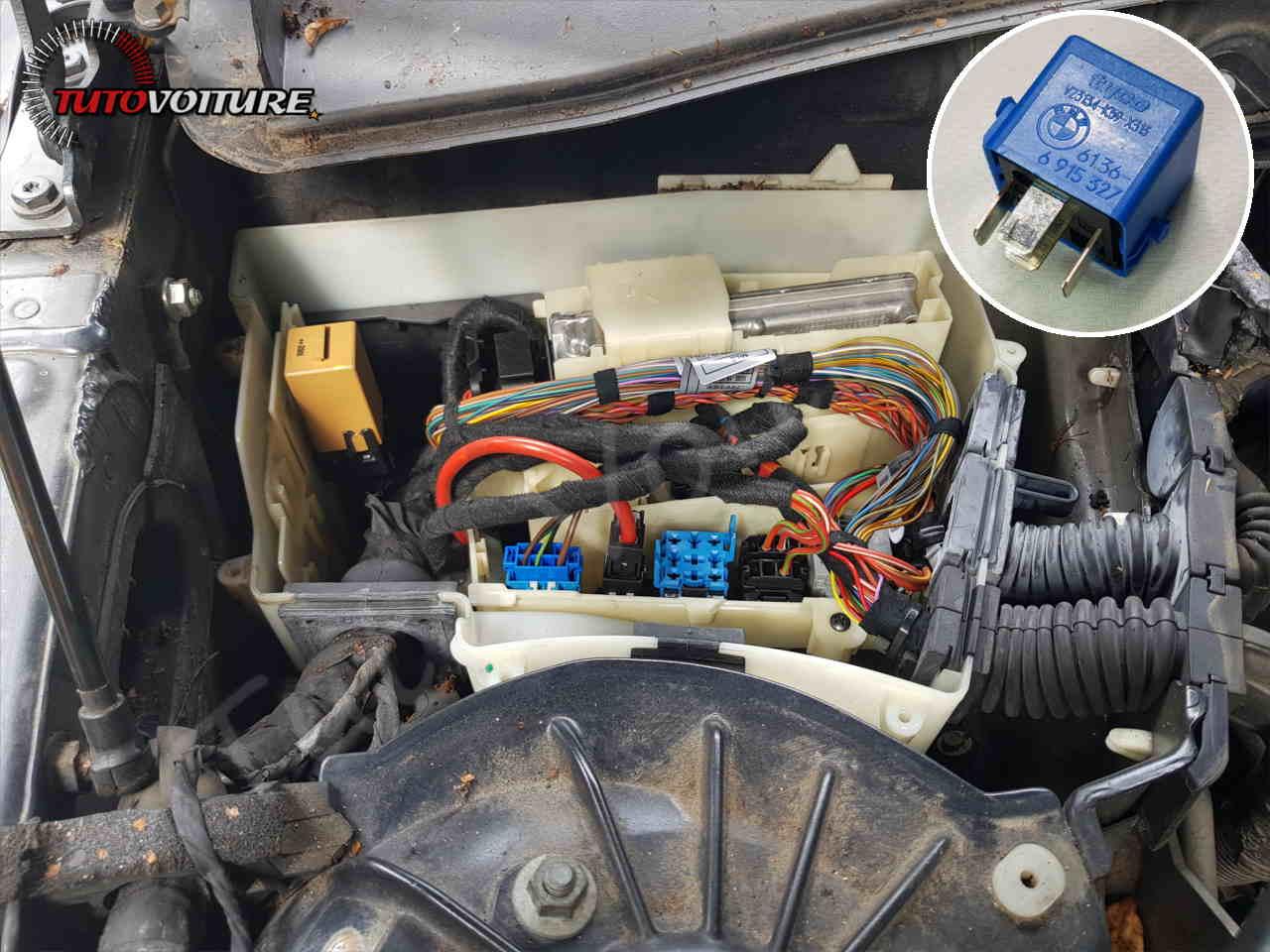 Boite à relais bmw E60